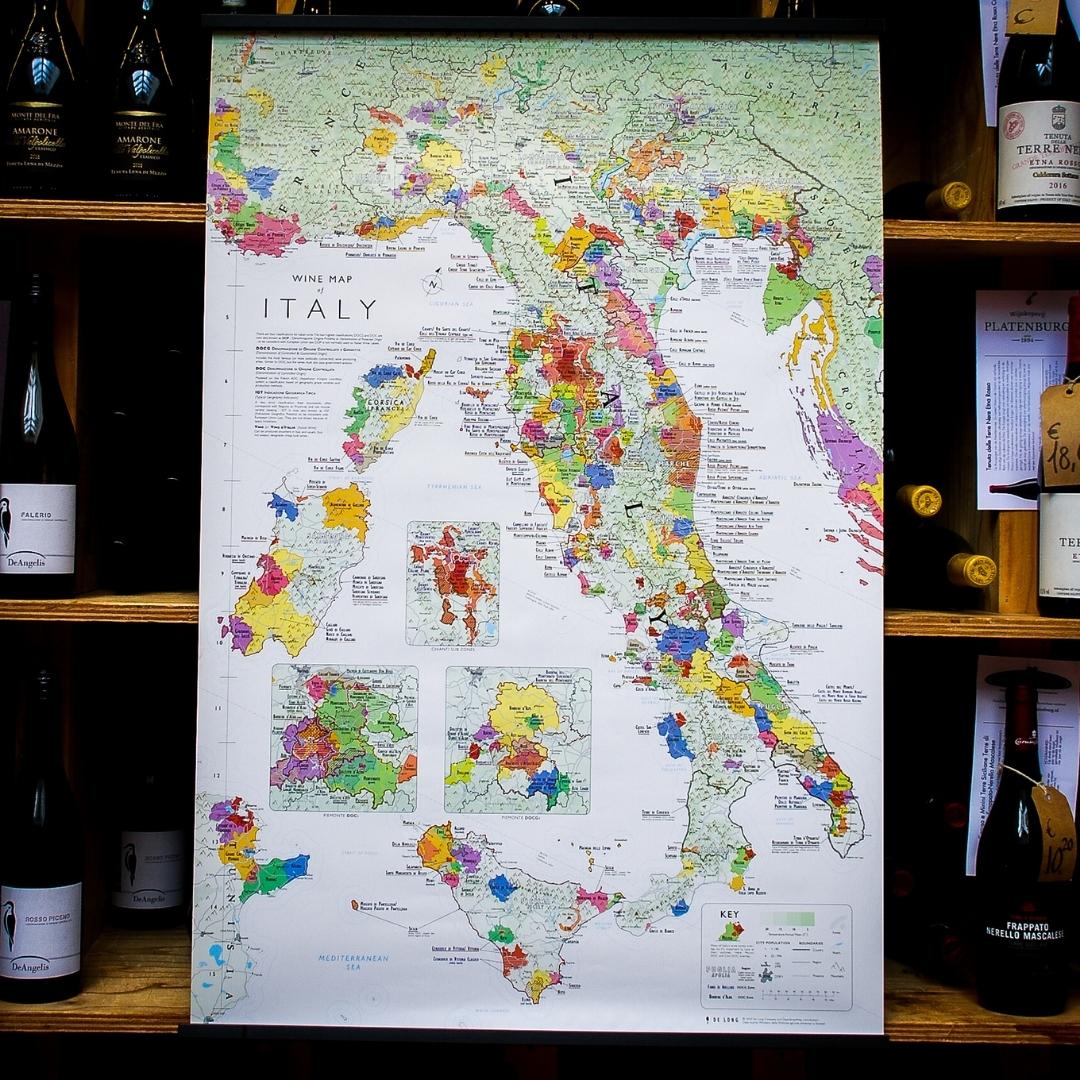 italie wijnkaart